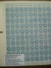 SBZ Ostsachsen Mi. Nr. 49 a ** blau 25 Pfennig Ganzbogen