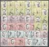 DDR Zusammendr. v. Mi.958 - 962 Sportler I von 1963 kpl. 20 Zdr. **