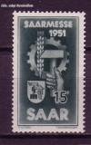 Saarland Mi. Nr. 306 ** Saarmesse 1951