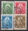 Ungarn Mi. Nr. 464 - 467 o
