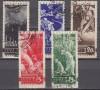 Sowjetunion Mi. Nr. 494 - 498 o  Ausbruch 1. Weltkrieg 20. JT