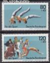 Bund Mi. Nr. 1172 - 1173 ** Sporthilfe 1983