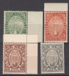 Vatikan Mi. Nr. 17 - 20 ** Luxus Heiliges Jahr 1933