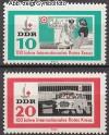 DDR Mi. Nr. 956 - 957 ** Rotes Kreuz