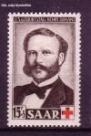 Saarland Mi. Nr. 343 ** Rotes Kreuz, Henri Dunant