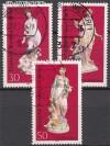 Berlin 1974 Mi. Nr. 478 - 480 o Berliner Porzellan