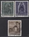 Liechtenstein Mi. Nr. 374 - 376 Weihnachten 1958 o