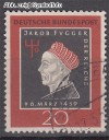 Bund Mi. Nr. 307 o Jakob Fugger