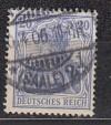 DR gepr�fte Farbabart Mi. Nr. 72 b o Germania 20 Pf