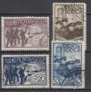 Sowjetunion Mi. Nr. 614 - 617 o  Bergung Nordpol 1