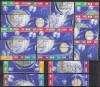 Sonderangebot DDR Zdr. v. Mi. 926 - 933 o Kosmos KB 1962 kpl. 16 Zdr.