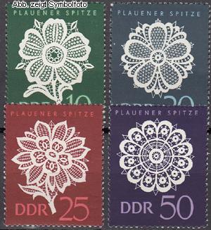 briefmarken ddr michel nr 1185 1188 postfrisch plauener spitze g nstig kaufen im briefmarken. Black Bedroom Furniture Sets. Home Design Ideas