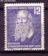 DDR Mi. Nr. 317 o Friedrich Ludwig Jahn