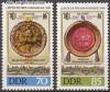 DDR Mi. Nr. 3316 - 3317 ** Fr�hjahrsmesse 1990