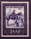 Saarland Mi. Nr. 316 ** Tag der Briefmarke 1952