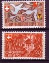 Schweiz Mi. Nr. 396 - 397 Pro Patria 1941 **