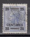 Österreichische Post auf Kreta Mi. Nr. 10 o  Kaiser Franz