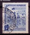 DDR Mi. Nr. 307 o Radfernfahrt 1952