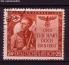 DR Mi. Nr. 863 o Fahnentr�ger 1943
