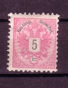 Österreich Mi. Nr. 46 X D * ungebraucht Doppeladler 5 Kr