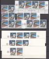 Griechenland Zusammendrucke - Lot aus MH 8 ** ( S 579 )