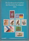 Deutsche Bundespost Jahrbuch 1973 mit Inhalt einwandfrei