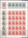 Schweiz 25 x Mi. Nr. 738 - 741 Evangelisten 1961 ** im Bogen