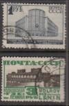 Sowjetunion Mi. Nr. 392 - 393  o  Bauwerke