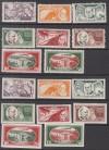 Lettland Mi. Nr. 153 - 160 A und B * Rainis - Fonds