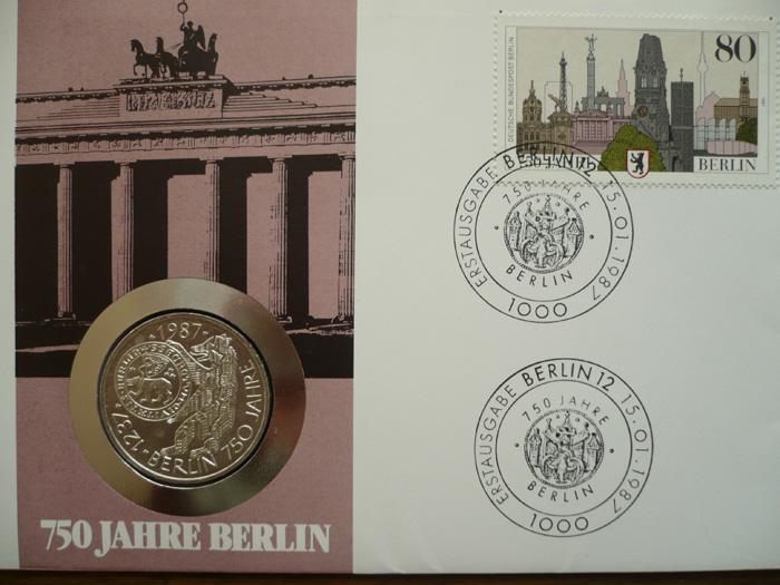 numisbrief 750 jahre berlin g nstig kaufen im briefmarken online shop. Black Bedroom Furniture Sets. Home Design Ideas