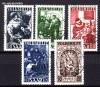 Saarland Mi. Nr. 267 - 271 o Gem�lde 1949