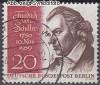 Berlin 1959 Mi. Nr. 190 o Friedrich von Schiller