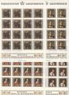 Liechtenstein Kleinbogen Mi. Nr. 809 - 812 ** Berühmte Gäste