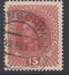 Österreich Mi. Nr. 221 y o 15 H dickes Papier