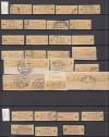 Auflösung DDR Spezialsammlung Billetmarken Mi. Nr. 18 Typ I und II o