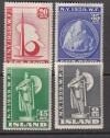 Island Mi. Nr. 204 - 207 **  Weltausstellung 1939