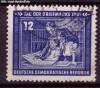 DDR Mi. Nr. 295 o Tag der Briefmarke 1951