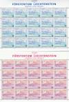 Liechtenstein Kleinbogen Mi. Nr. 1103 - 1104 ** Europa 1995