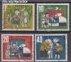 Bund Mi. Nr. 369 - 372 o M�rchen 1961