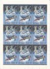 Russische Förderation Zusammendruckbogen Mi. 445 - 448 o  Weltraum