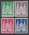 Amerik. u. Brit. Zone Mi. Nr. 97 - 100 II **  zum Sonderpreis