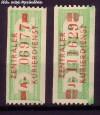 DDR Dienstmarken B Verwaltungspost A Mi. Nr. 30 - 31 **