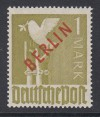 Berlin Mi. Nr. 33 ** H�chstwert 1 Mark Rotaufdruck TOP