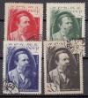 Sowjetunion Mi. Nr. 523 - 526 o  Todestag Friedrich Engels 1935