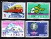 Schweiz Mi. Nr. 747 - 750 Jahresereignisse 1962 **
