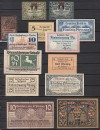 Lot 13 St�ck verschiedenes Notgeld ( 17 )