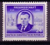 DDR Mi. Nr. 302 ** Klement Gottwald