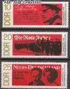 DDR Mi. Nr. 1417 - 1419 ** Novemberrevolution