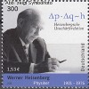 Bund Mi. Nr. 2228 ** Werner Heisenberg