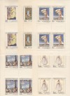Tschechoslowakei Kleinbogensatz Mi. 2032 - 2036 ** Kunstwerke 1971